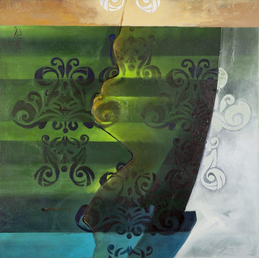 COLEÇÃO PADRÃO II 2012 (acrílico sobre tela) – tamanho 90 x 90