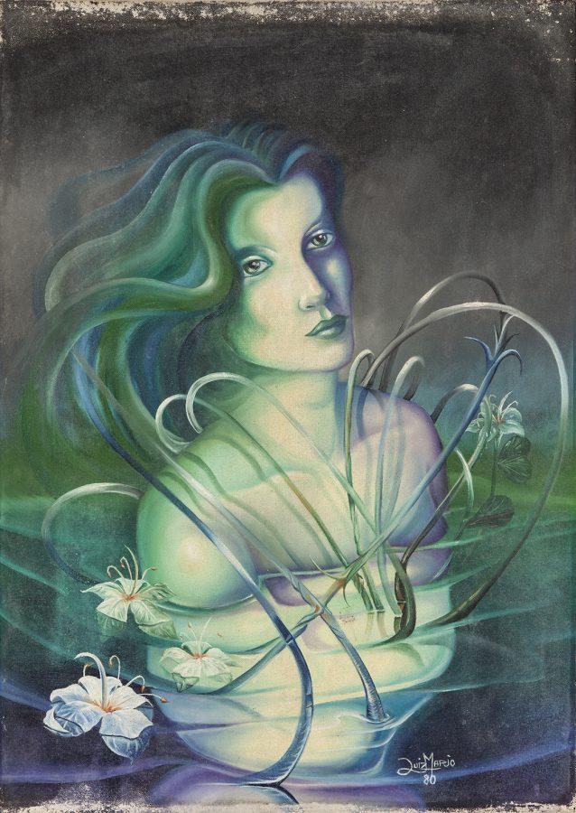 SÉRIE FEMININO, 1980 (acrílico sobre tela) – tamanho 70 x 50