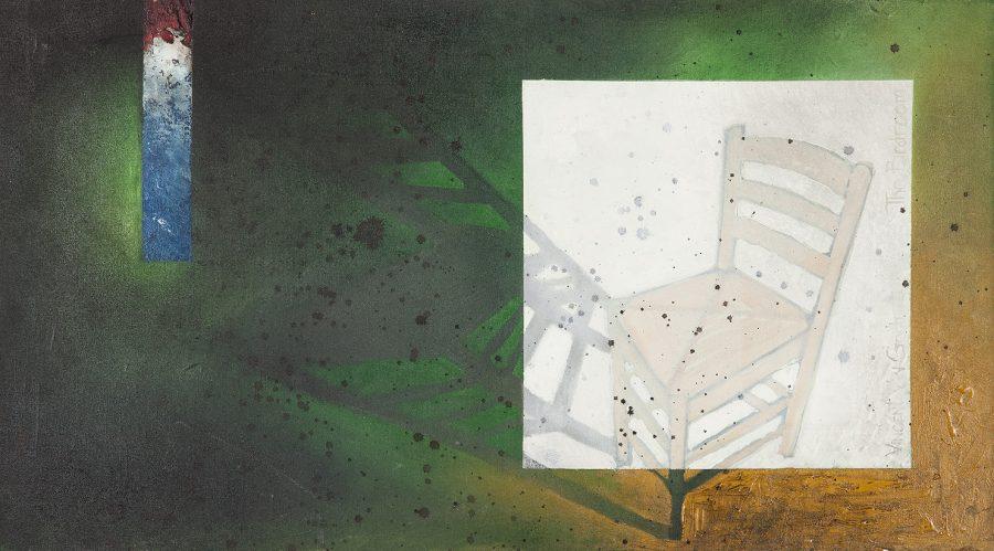 SÉRIE FRUTAS N'AGUA, (óleo sobre tela) – tam 1,60 x 90 (SEM ASSINATURA LM)
