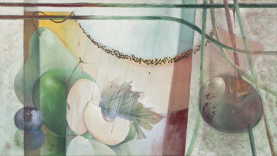 SÉRIE FRUTAS N'AGUA, (óleo sobre tela) – tamanho 1,60 x 90 (2)