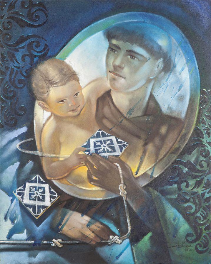 SÉRIE SANTO ANTÔNIO, 2012 (óleo sobre tela) tamanho 80 x 1,00