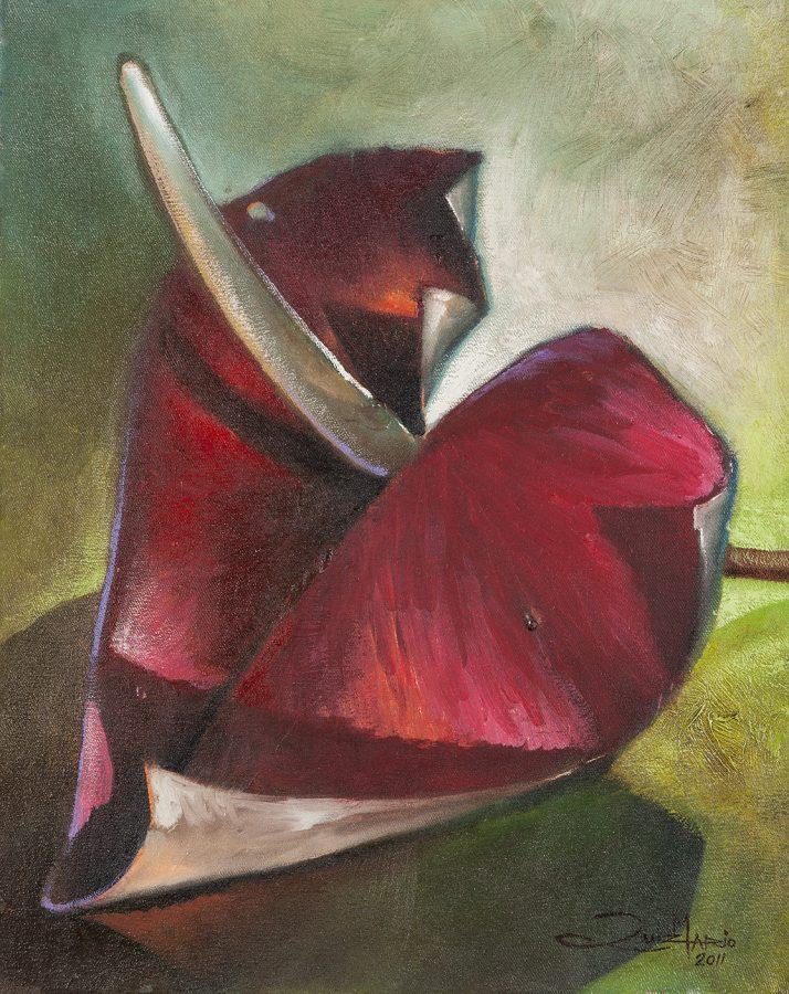 TELA SÉRIE OLHAR , 2011, (acrílico sobre tela) – tamanho 50 x 40
